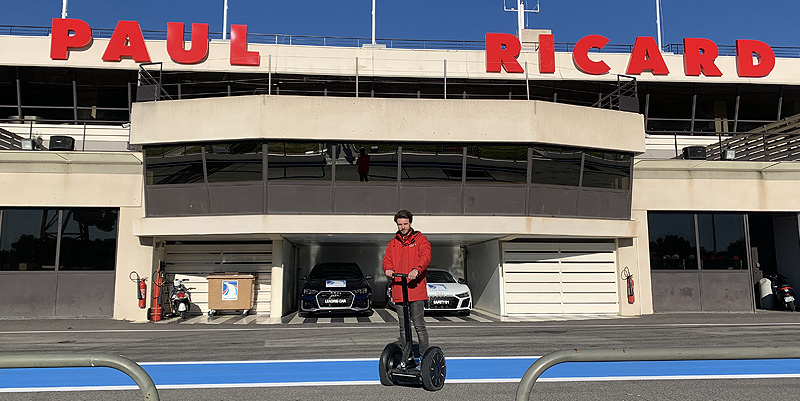 illustration de Balade en segway au circuit Paul Ricard