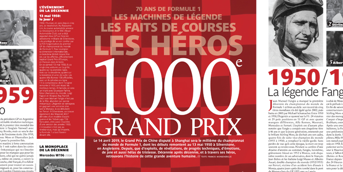 illustration de Formule 1 : et de 1000 !
